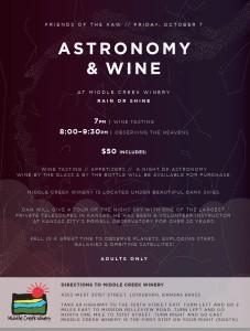 Astronomy & Wine