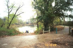 Manhattan KS Park Blue Rive Access Oct 28 2000