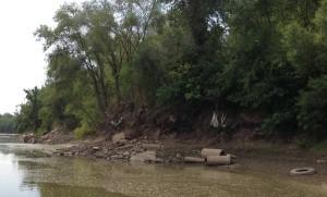 Area below the De Soto Access