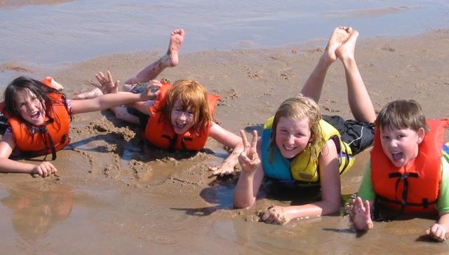 kids sandbar
